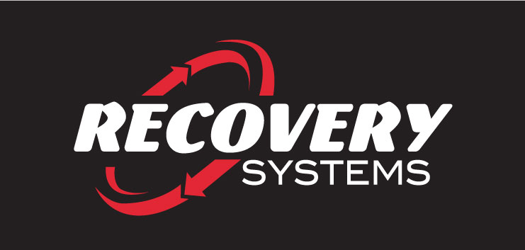 Recovery Systems Logo Final white-n-Red-on-black