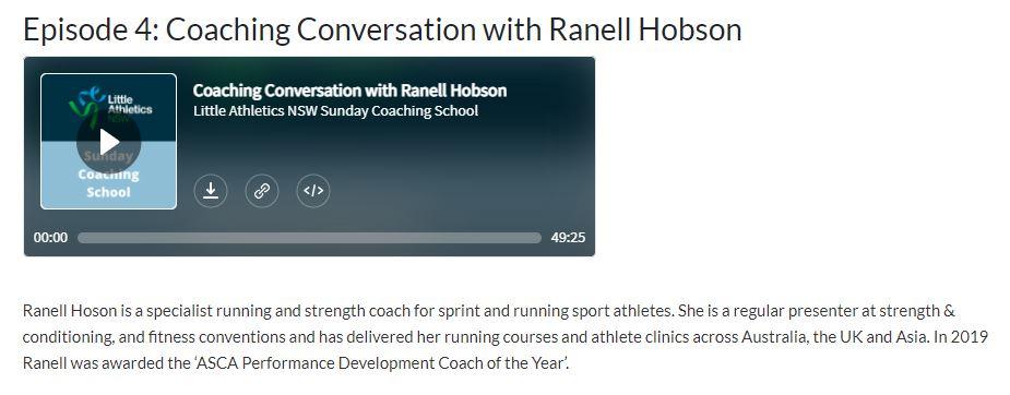 lansw sunday coaching podcast